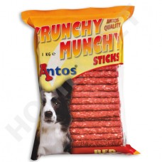 Munchy Roll Dog Chews- red