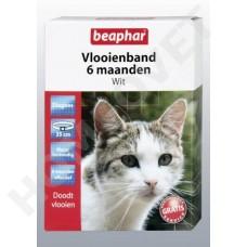 Beaphar Cat Flea Collar - White for up to 6 Months