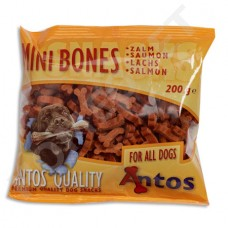 Bone shaped training treats for dogs - salmon