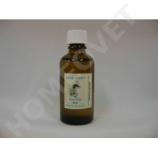 Essential tea tree oil to disinfect