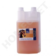 Homeovet Biozym Apple Cider Vinegar for horses  improve the immune system and help fight off fungal infections, bacteria, diarrhoea