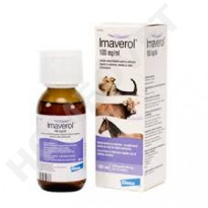 Imaverol antimycotic for horses and dogs.