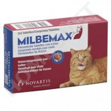 Milbemax wormer for cats - 2 -8kg advantageous pack