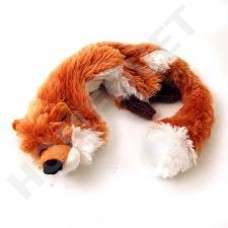 Skinneeez Fox - stuffing free dog toy