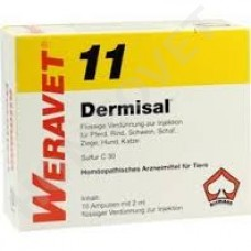 Dermisal Homeopathic Ampoules and Drops for Animals