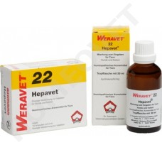 Hepavet Homeopathic Ampoules and Drops for Dogs and Cats