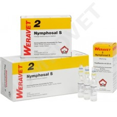 Nymphosal Homeopathic Ampoules and Drops for Animals