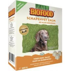 Biofood sheep fat treats with salmon oil for dogs