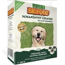 Biofood sheep fat treats with seaweed for dogs